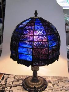 おしゃれなステンドグラス ランプ