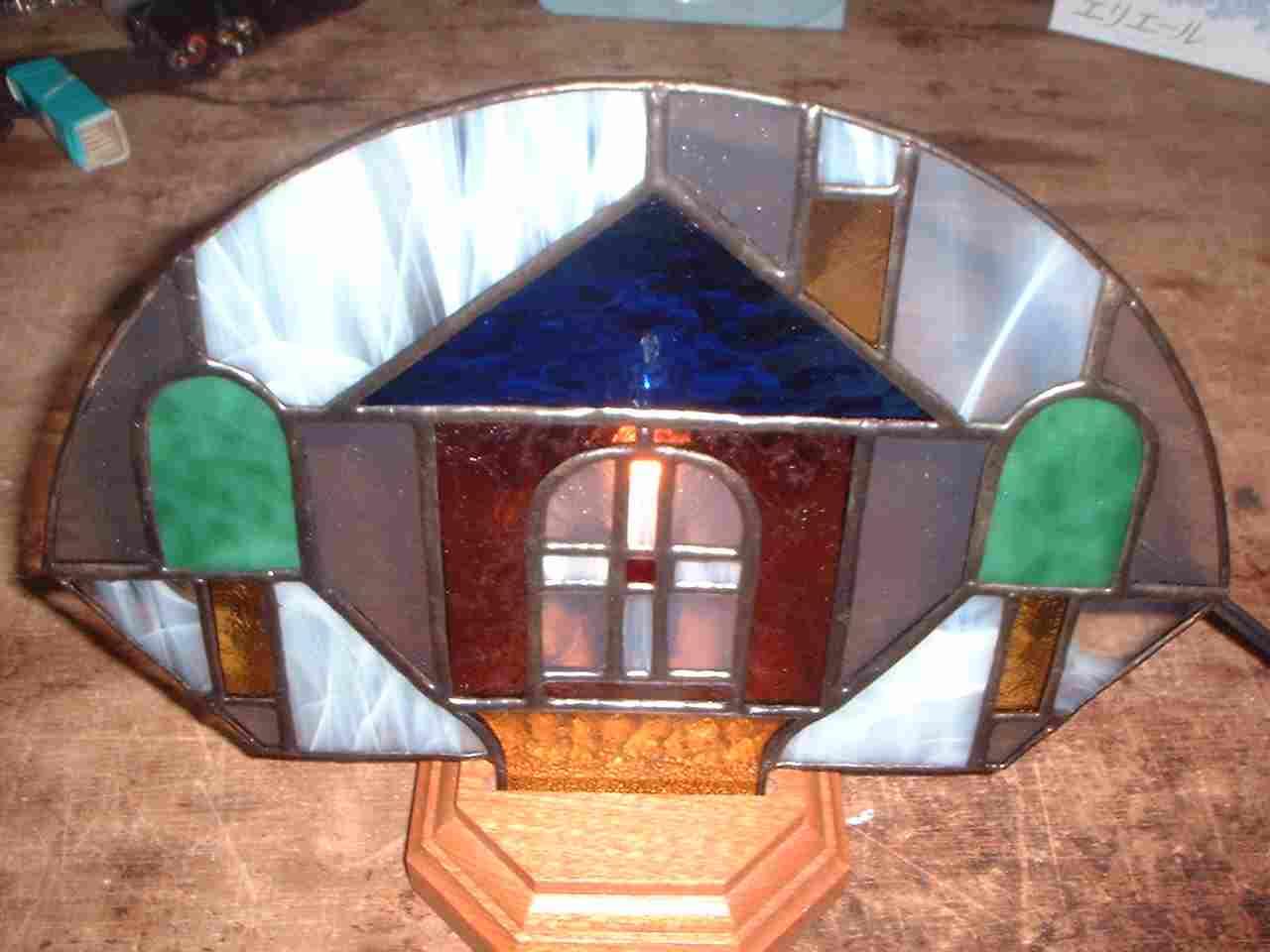 2回目のステンドグラス