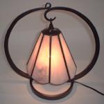 4作目 ステンドグラス ランプ