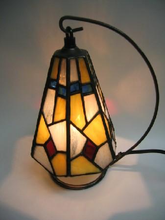 立体のランプ・ステンドグラスの挑戦
