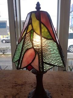 ステップアップして、デッサンをしてランプを作りました